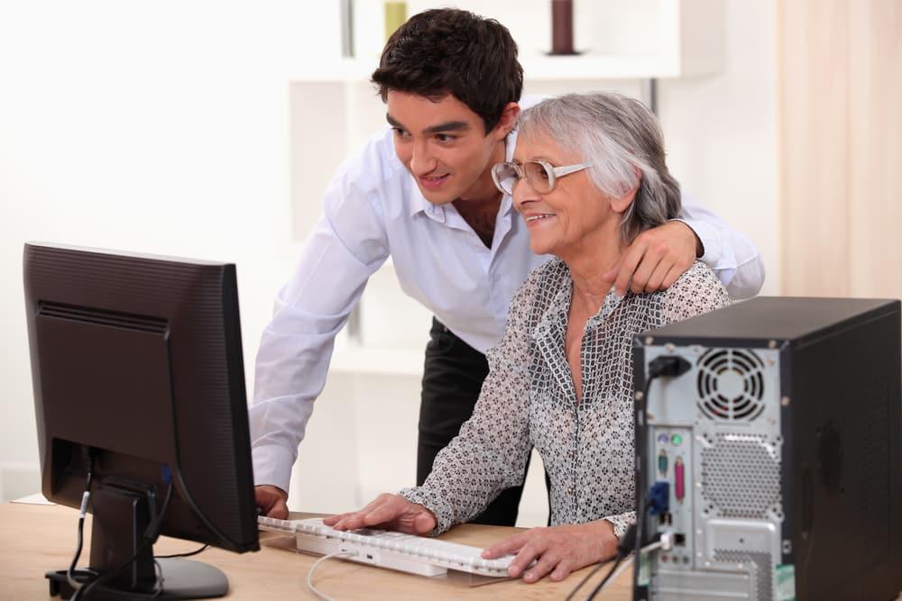 helping older people