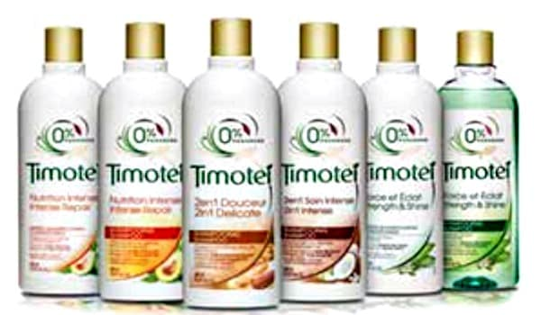 Timotei haircare products haircare