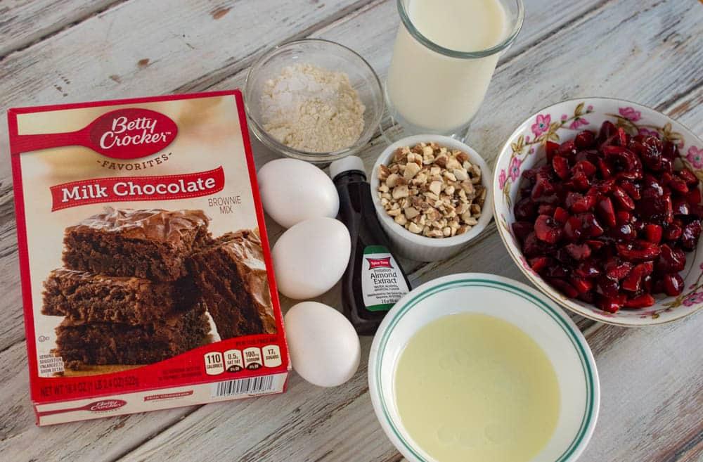 cake mix muffins