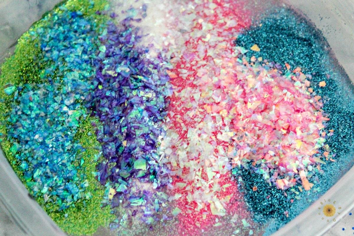 glitter slme