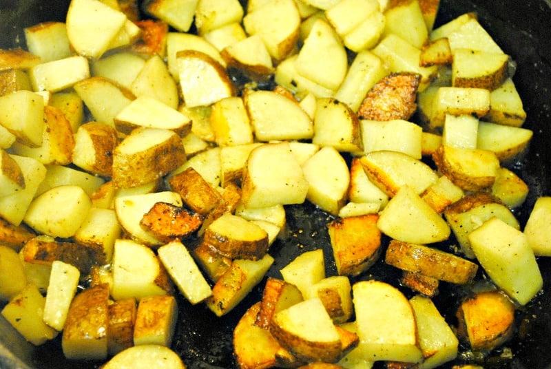 sausage potato hash