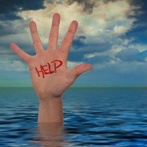 Sinking Hand
