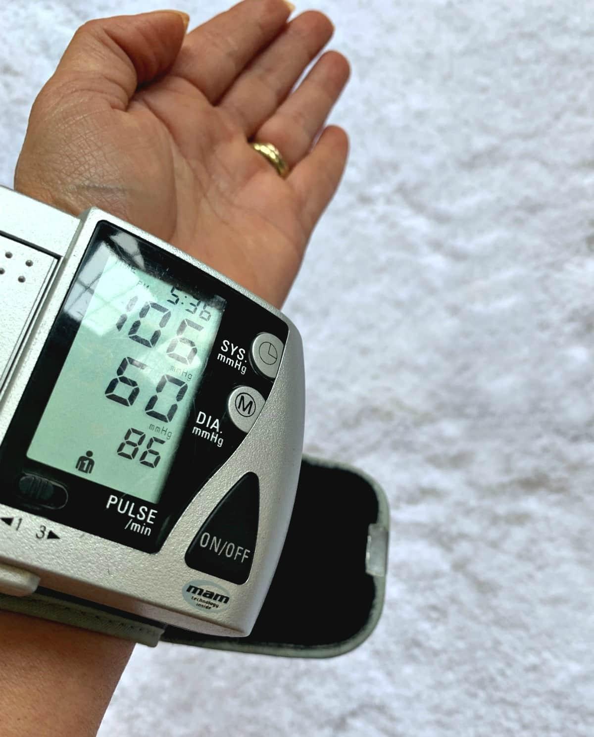 Monitor blood pressure St Joseph Aspirin heart healthy