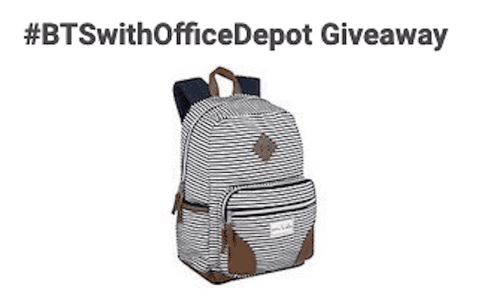 btswithofficedepot giveaway