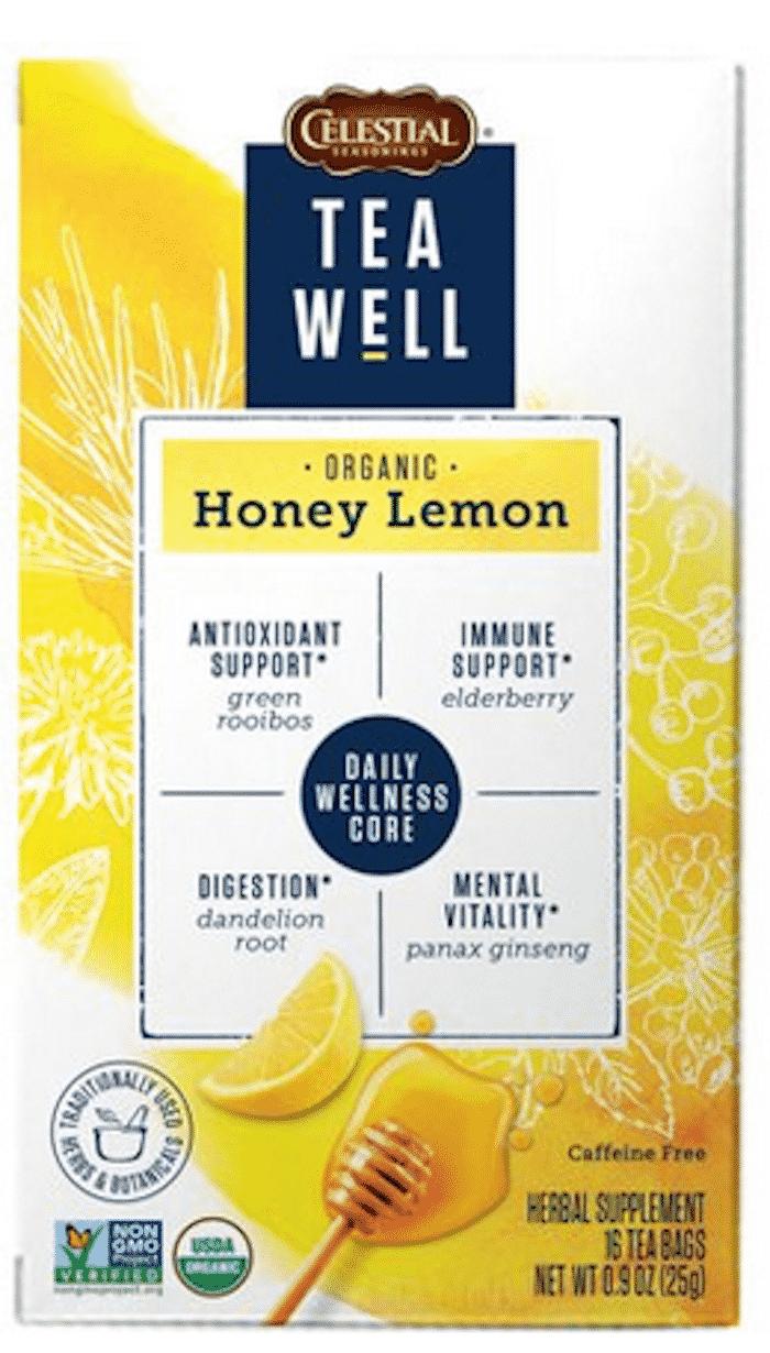 tea well honey lemon