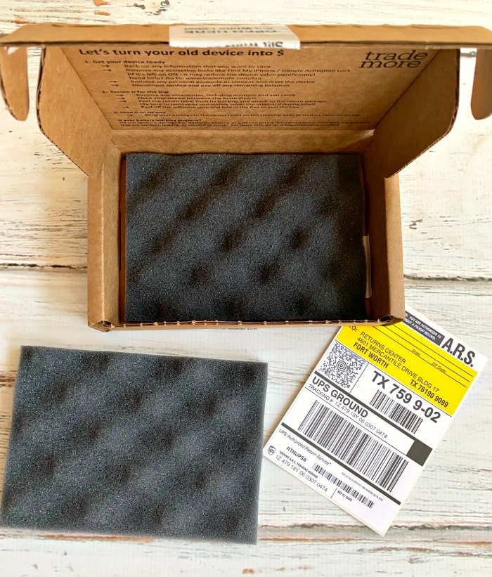 trademore prepaid shipping box 2