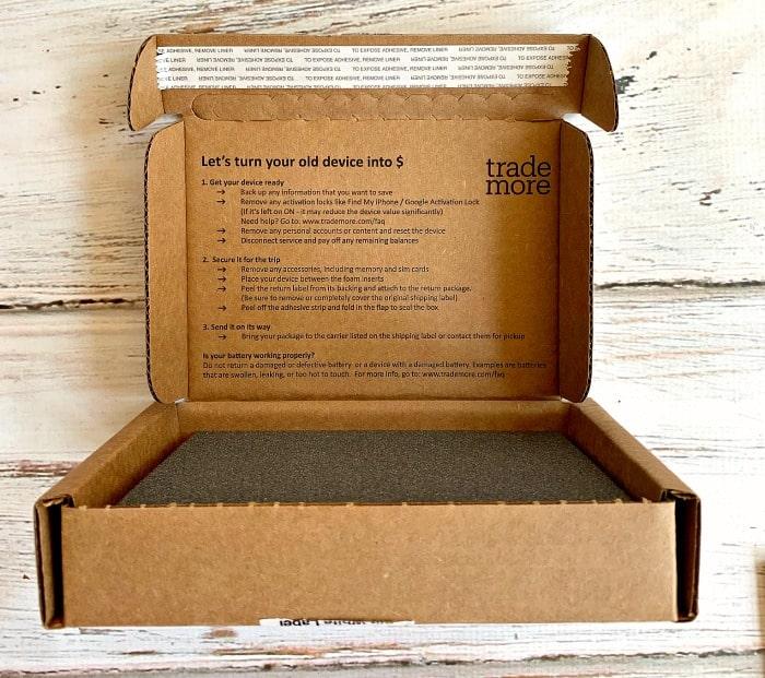 trademore prepaid shipping