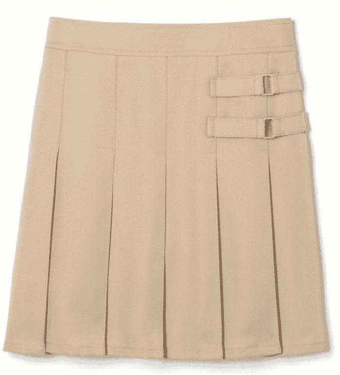 back to school girls uniform skirt