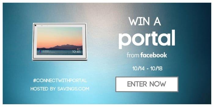 facebook portal giveaway