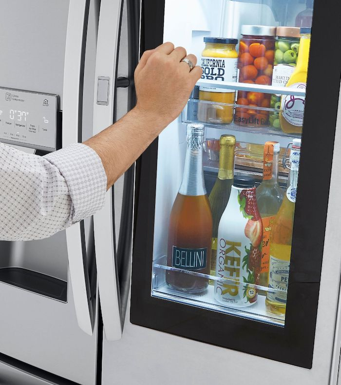 LG InstaView™ Door in Door® Refrigerator with Craft Ice™ 1