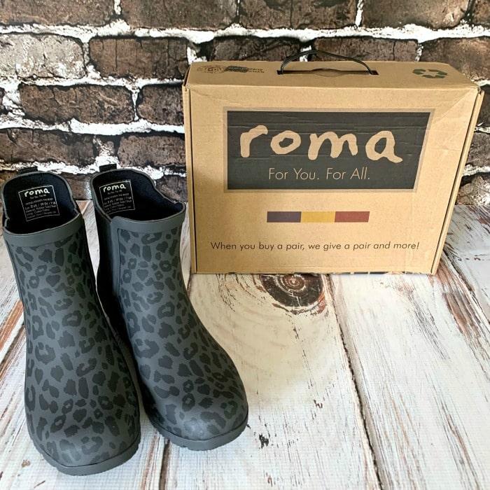roma rain boots