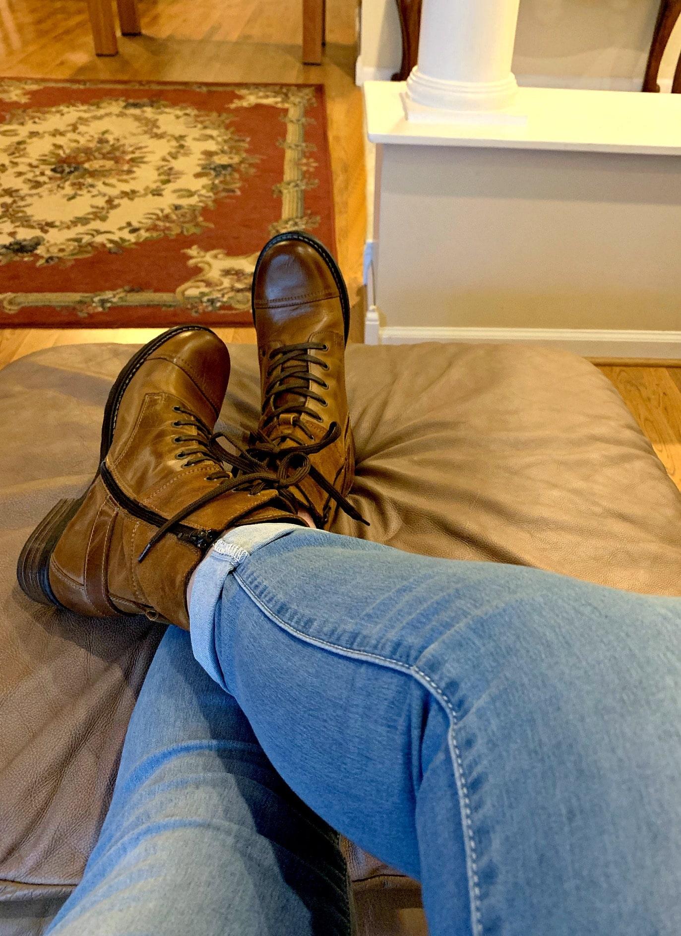 Taos Crave combat boots