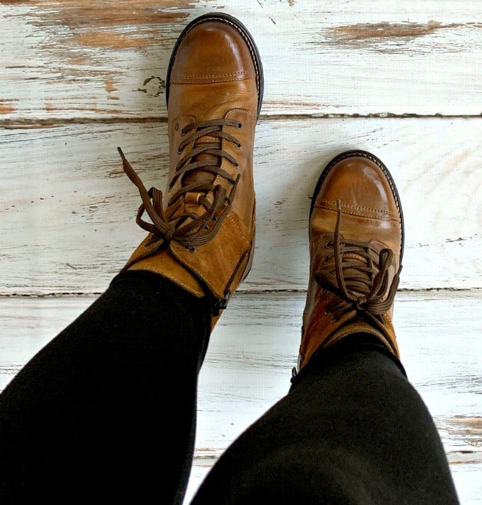 Crave combat boots