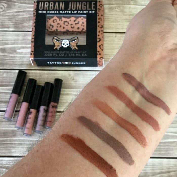 tattoo junkee lip colors