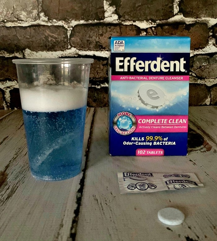 efferdent for retainers