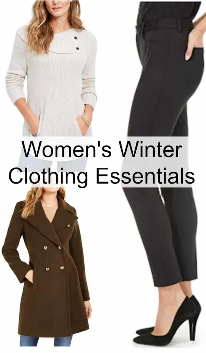 winter clothing essentials