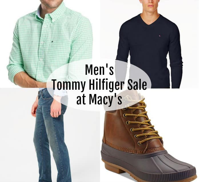men's tommy hilfiger sale
