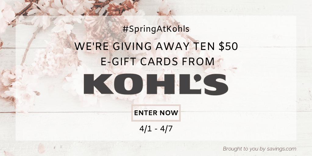 Kohl's Sale