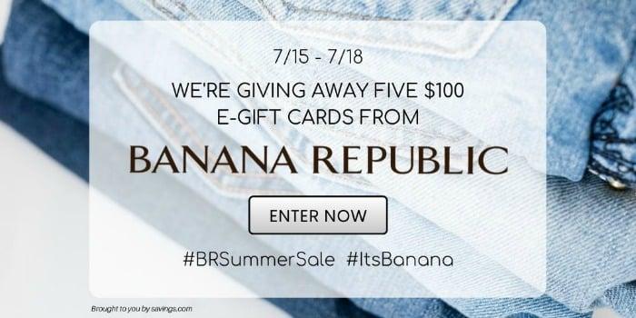 Banana Republic Giveaway