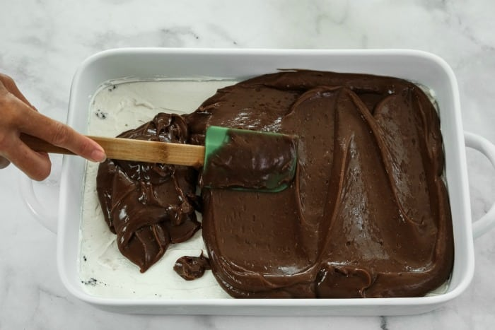 chocolate pudding layer