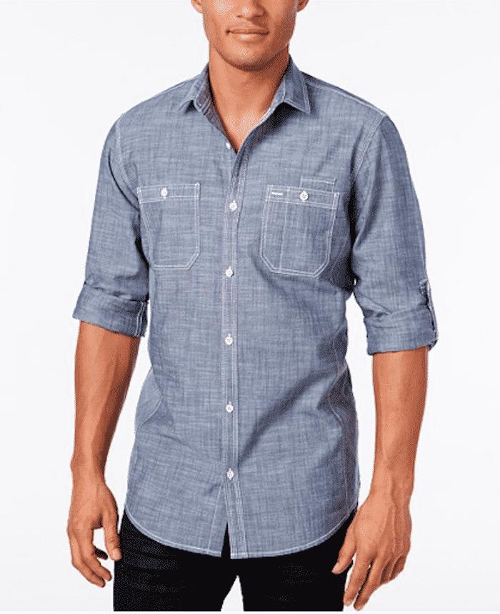 chambray shirt macys