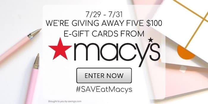 macy's giveaway