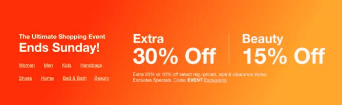 Ultimate Event Sale