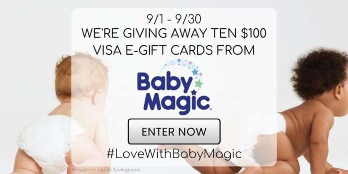 Baby Magic giveaway