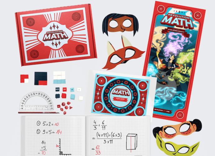 math revolution learning kit