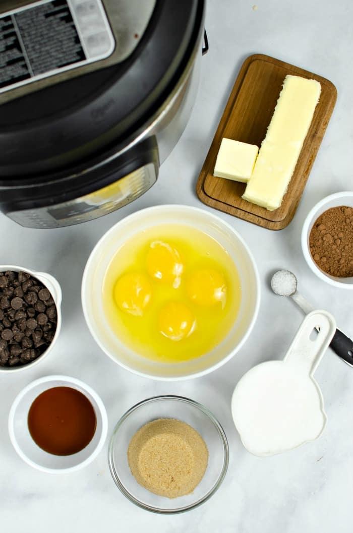 gluten free cake in an instant pot