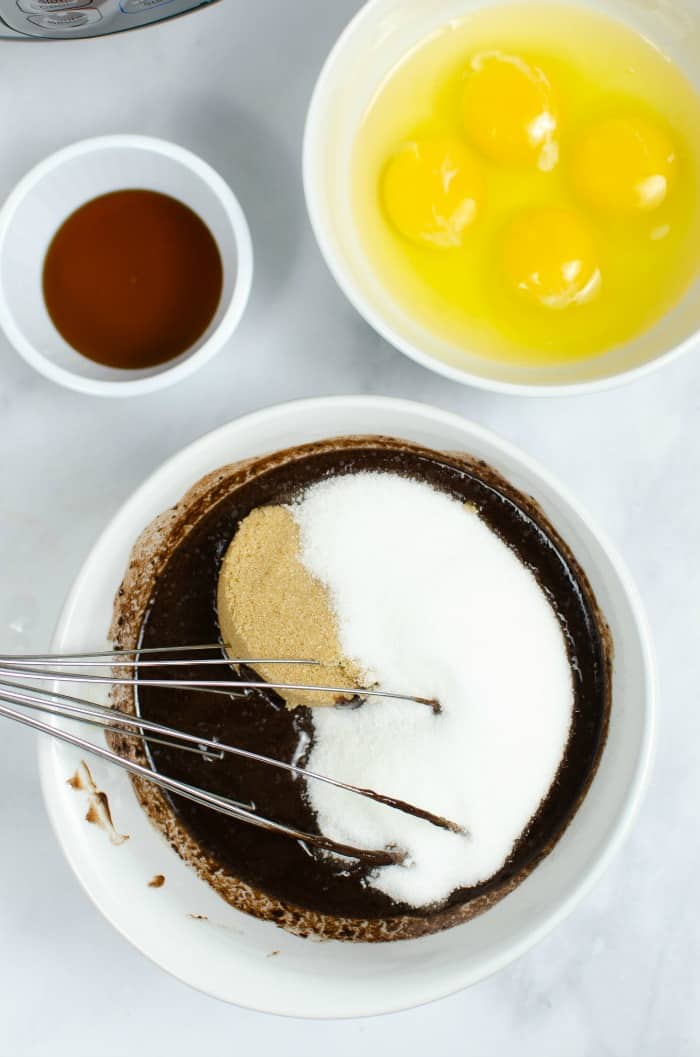 ingredients for gluten-free chocolate cake