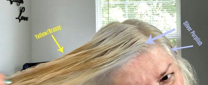toning hair fail