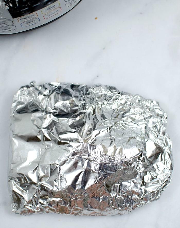 wrap tilapia in foil