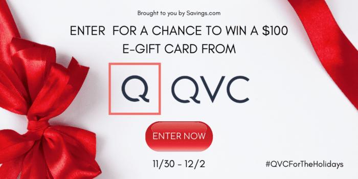 QVC giveaway