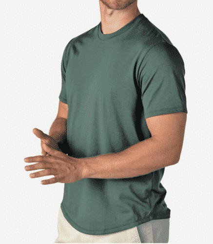 perk clothing soft men's tee