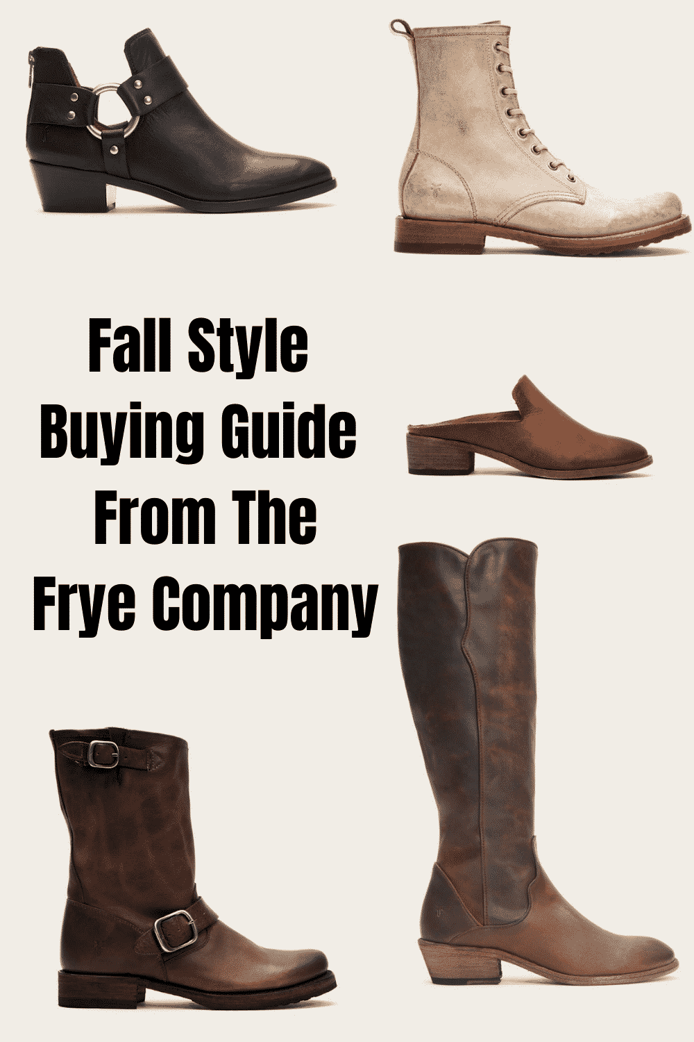 Fall must-have shoe buying guide from Frye