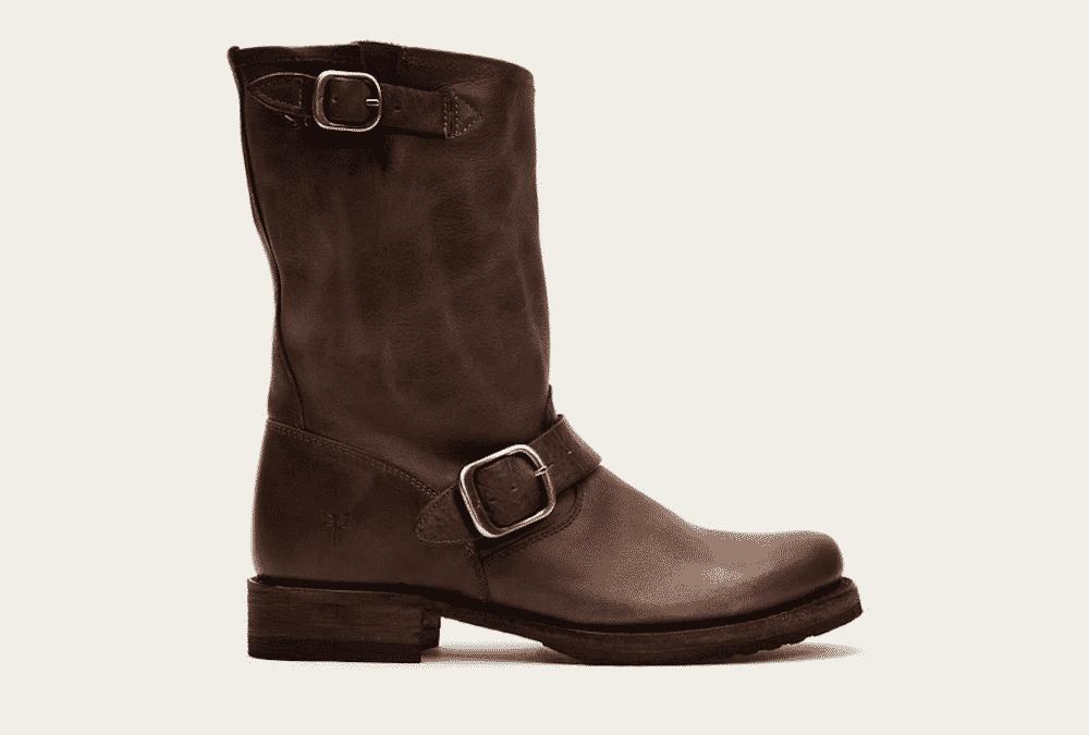 biker boots from frye company